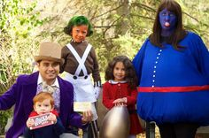 Willy Wonka (and character family)