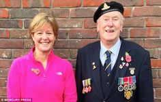Karen Lowton wrote about the chat she had with former soldierPeter Godsmark inOrpington, south London...how to wear a poppy.
