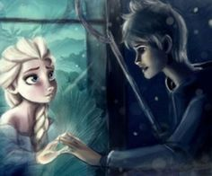 Elsa and Jack - I WANT a love story movie on these two!