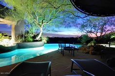 wonderful #views from your private #pool in backyard