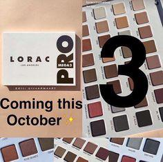 Lorac pro 3 mega palette coming October 2016!!