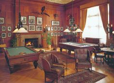 Biltmore Estate, Ashville, North Carolina  -  Game Room - Travel Photos by Galen R Frysinger, Sheboygan, Wisconsin