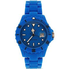 Unisex LTD Adult Analogue Blue Plastic Strap Watch - Limited Edition
