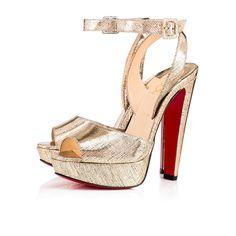 65bc357b5dd CHRISTIAN LOUBOUTIN Louloudancing 140mm Platine Lame Mercure.   christianlouboutin  shoes   Designer Wedding Shoes