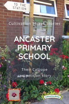 Read the story behind Ancaster Primary school's Cultivation Street garden and their Calliope My Life geraniums competition entry upcycling a bike. Runner Beans, Garden Projects, Garden Ideas, Church Of England, Primary School, Geraniums, Competition, Bike, Street