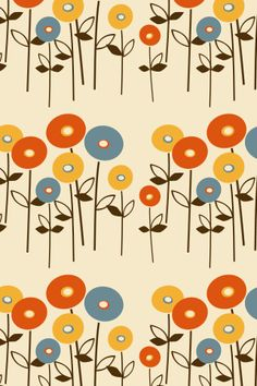 """""""Spring"""" by MaRwA El-AttAr. To have a colourlovers pattern printed on fabric, go to http://www.colourlovers.com/store/fabric"""