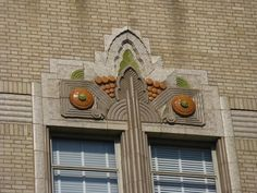 Wonderful Art Deco detail on the former Kress Department Store. Bakersfield California, California Dreamin', Architecture Tumblr, Old Abandoned Houses, Art Deco Buildings, Old Doors, Department Store, All Design, Art Nouveau