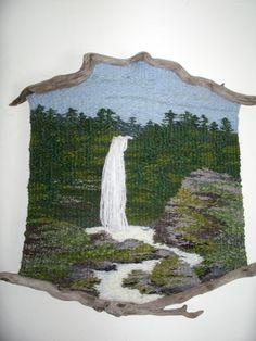 Wood 'n I Weavings : Thalia Truesdell Pin Weaving, Weaving Art, Weaving Patterns, Tapestry Weaving, Loom Weaving, Basket Weaving, String Crafts, Yarn Crafts, Weaving Wall Hanging