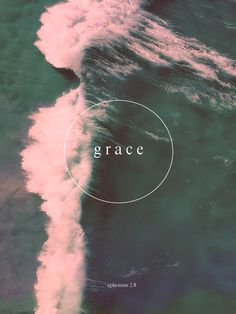 if grace is an ocean then we're all sinking