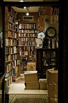 Little Old Bookshop... by Tasayu Tasnaphun, via Flickr