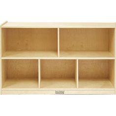 ECR4Kids ELR-0420 Wood 48 x 13 x 30 Storage Cabinet