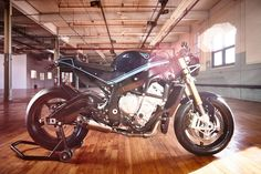 BMW S1000R Cafe Racer by Purebreed Motorcycles #motorcycles #caferacer #motos | caferacerpasion.com
