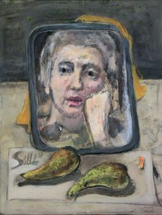 Marie-Louise von Motesiczky: Self-portrait with Pears, 1965 (202)