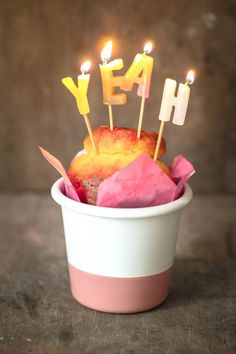 diy bday candles