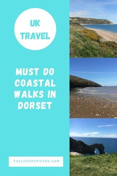 There are so many amazing Jurassic Coast walks in Dorset to discover. Some are more challenging than others, but all are dog friendly. Beach Cars, Beach Fun, Days Out In Scotland, Lulworth Cove, South West Coast Path, Uk Beaches, Walking Routes, Jurassic Coast, Great Walks