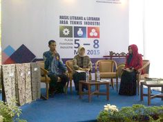Takshow Tentang Batik yang Menghadirkan Ibu Kepala Balai Besar Kerajinan dan Batik, Ibu Zulmalizar dan Praktisi Batik Dari BBKB, Bapak Agus Haerudin.