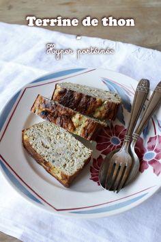 Terrine de thon protéinée – Mes brouillons de cuisine Chorizo, French Food, French Toast, Gluten, Breakfast, Portrait, Quiches, Comme, Sleeve