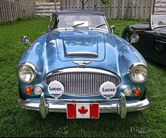Photograph Canadian 1965 Austin-Healey 3000 Mk3 by Dave Hughes on 500px