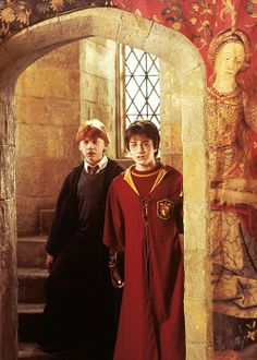 Harry & Ron - Harry Potter and The Chamber of Secrets