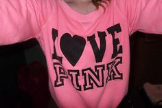 Victoria secrets pink, love this sweatshirt!