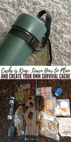 Cache is King: Learn How to Plan and Create Your Own Survival Cache - There are many choices and schools of thought when it comes to survival caches. It goes into what you want to cache, where you want to cache it and most importantly where. All of this is crucial for creating a great survival cache or caches. These are a vital part of any survival plan.