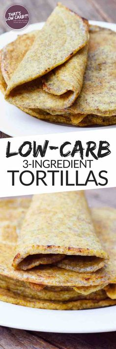 These Low Carb Tortillas are everything you are craving since going low-carb. Ready yourself for taco Tuesday with these 1 Net Carb Tortillas. ~ https://www.thatslowcarb.com