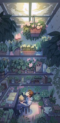 Little Workshop by miyumon on DeviantArt