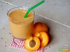 Smoothie all'Albicocca  #ricette #food #recipes