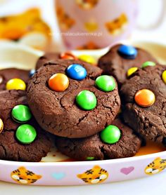 Thick & Chewy Chocolate M&M Cookies – Cookie, Brownie & Chocolate Obsessed The Baking ChocolaTess – Cookie, Brownie & Chocolate Recipes Triple Chocolate Cookies, Chocolate World, Chocolate Brownies, Chocolate Recipes, M M Cookies, Unsweetened Cocoa, How To Make Cookies, Food Print, Cookie Recipes