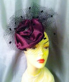 Hand Made   Millinery  Fascinator Hat   The by katherinecareyhats, $225.00