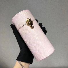 Louis Vuitton Pink Epi Leather 200ML Travel Case LS0157 2018 Small Leather Goods, Louis Vuitton Handbags, Authentic Louis Vuitton, Purses, Pink, Travel, Shoes, Wallets, Perfume