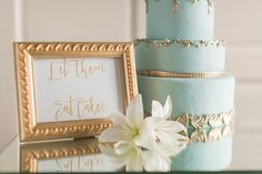 Trending - Ivory and Teal French Wedding Ideas www.weddingchicks.com/ staging by Weddings by lulu Photography by Arte de Vie