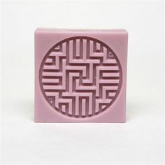 Handmade Silicone Soap Mold  Rectangle With Traditional Patterns For Soap Making #BA
