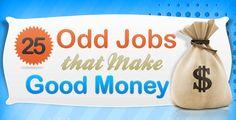 25 Odd Jobs That Make Good Money