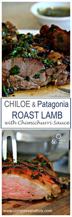 Could You Eat Pizza With Sort Two Diabetic Issues? Chiloe And Patagonia Roast Lamb With Chimichurri Sauce Gluten Free, Paleo Lamb Recipes, Meat Recipes, Paleo Recipes, Dinner Recipes, Cooking Recipes, Dinner Ideas, Recipies, Roast Lamb, Grilled Lamb Chops