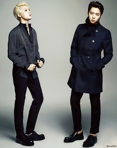 Junsu and Park Yoochun for Marie Claire Korea