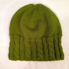 Ravelry: Fisher Cable Hat pattern by Lindsey Felice