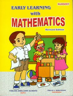 The EARLY LEARNING with MATHEMATICS Series (Nursery, Kinder, Prep)
