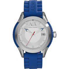 afe621ab737 AX Armani Exchange Round Silicone Strap Watch