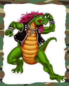 Heavysaurios Heavy Metal, Bowser, Mario, Draw, Fictional Characters, Baby, Templates, New Age, Dinosaurs