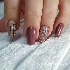 Best Nail Art - 61 Best Nail Art Designs for 2019 Today we have the Best Nail Art Designs for We have found 61 close to perfection nails that you will love dearly. Cute Acrylic Nails, Gel Nail Art, Nail Art Diy, Diy Nails, Manicure, Nail Nail, Great Nails, Perfect Nails, Simple Nails