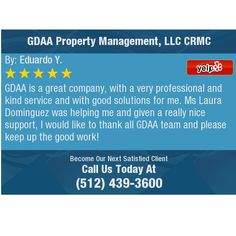 GDAA is a great company, with a very professional and kind service and with good solutions...