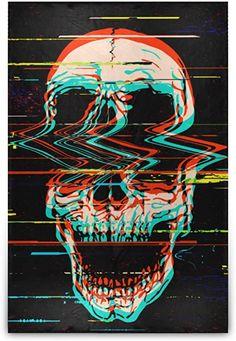 Glitch Wallpaper, Graffiti Wallpaper, Skull Wallpaper Iphone, Kleidung Design, Vaporwave Art, Skeleton Art, Skeleton King, Dope Wallpapers, Skull Artwork