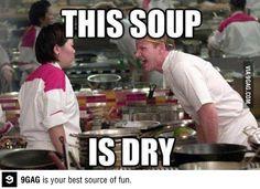 Dry soup