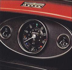 Mini 1976 Mini Cooper Classic, Mini Cooper S, Classic Mini, Classic Cars, Mini Cooper Interior, Mini Driver, Mini Morris, Car Gauges, Mini Cooper Clubman
