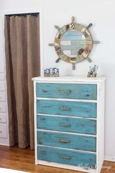 Don't throw away that old furniture! Learn to take an ugly, beaten up piece and transform it with these practical tips and tutorial on how to paint furniture with chalk paint.