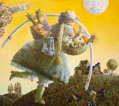 Anna Berezovskaya_Flight to the Moon