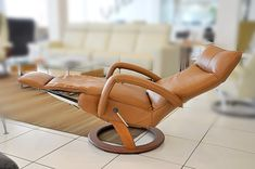 Leather Chair With Ottoman Patio Stuhlkissen Abstand Small Recliners, Small Swivel Chair, Leather Chair With Ottoman, Leather Recliner Chair, Accent Chairs Under 100, Accent Chairs For Living Room, Modern Recliner Chairs, Lounge Chairs, Room Chairs