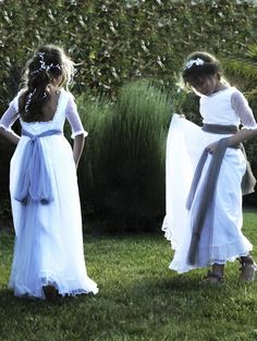 Vestidos de comunión de Navascués
