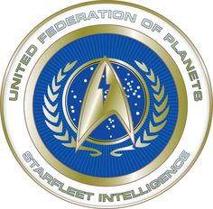 Star Trek United Federation of Planets - Star Fleet Intelligence badge. I want a jacket with this on it!